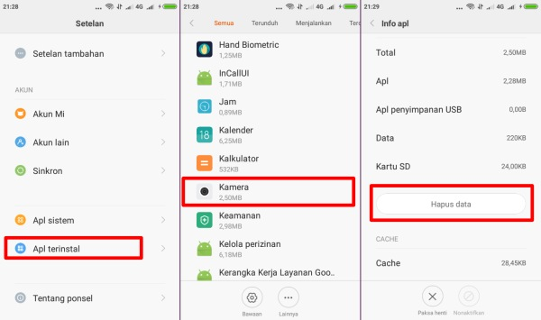 fix problem kamera redmi 2