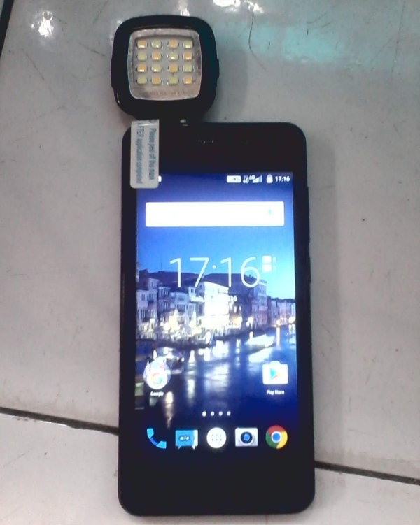 led flash android
