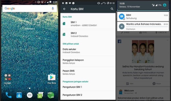 ROM AICP Marshmallow (Android Ice Cold Project) v11.0 Andormax QI G36C1G