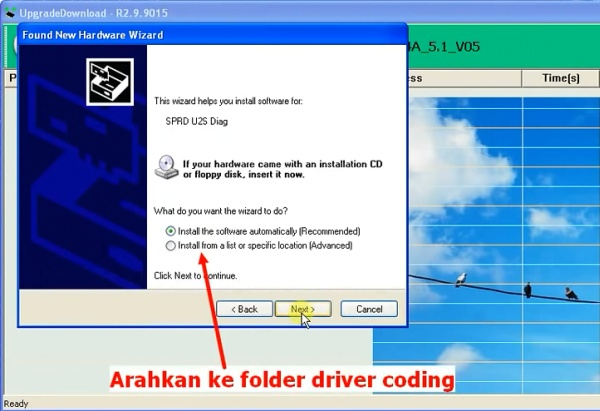 install driver coding