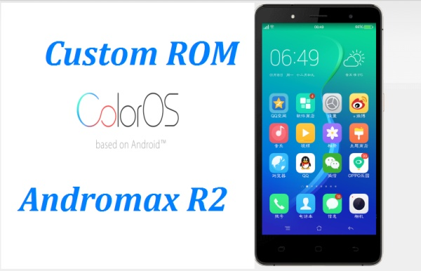 cusrom andromax r2 color os