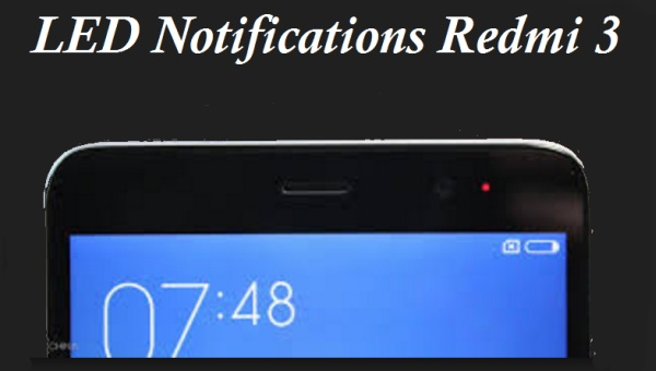 led notif redmi 3s