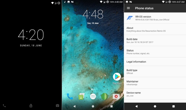 install android nougat 7.1 rom on lenovo a7000