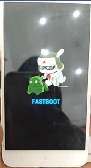 Fastboot Mode Redmi 7a