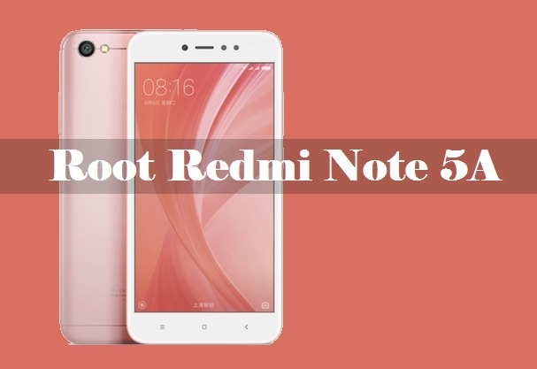 root redmi note 5a prime Cara Root