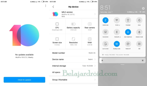 Cara Update Manual Redmi 4X Ke MIUI 10