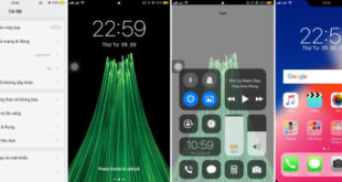 Tema iPhone X Buat OPPO Color OS